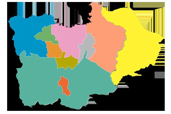 jabodetabekar maps